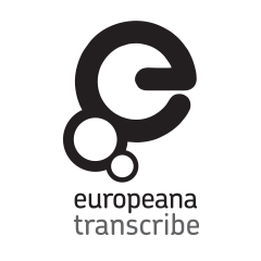 Europeana Transcribe Logo